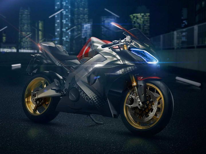Kymco Unveils Electric Superbike Concept SuperNEX