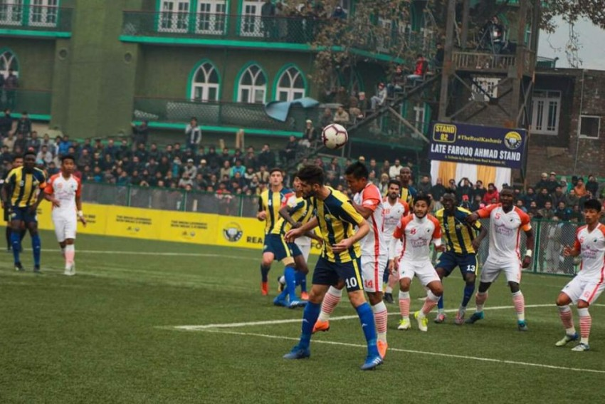 I-League: Travelling NEROCA Hand Real Kashmir First Defeat