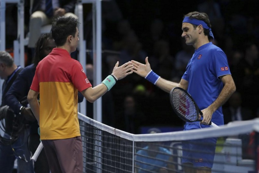ATP Finals: Roger Federer Beaten By Kei Nishikori; Kevin Anderson Makes Winning Debut