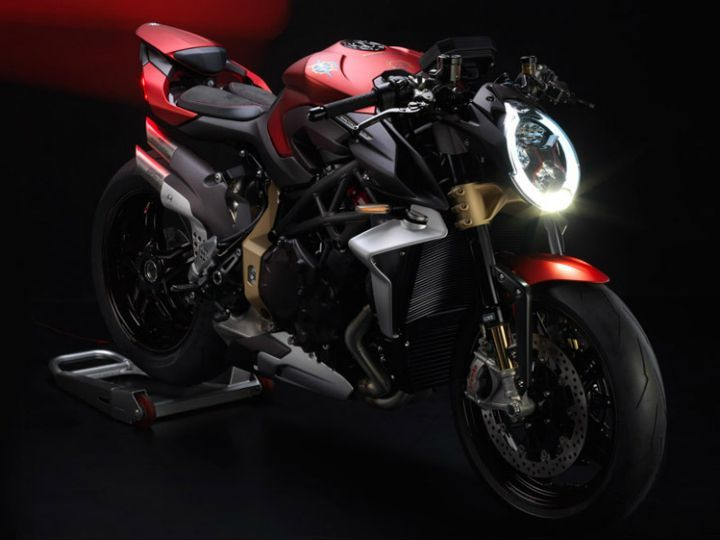 MV Agusta Unveils Brutale 1000 Serie Oro At EICMA 2018