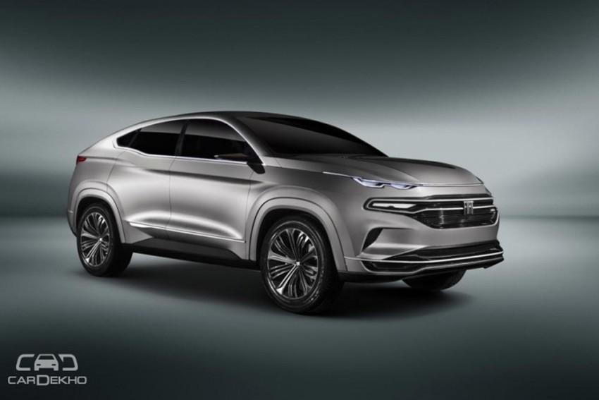 Fiat Reveals Midsize Coupe-SUV Fastback Concept
