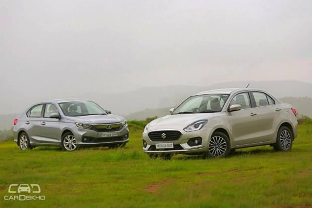 Cars In Demand: Maruti Dzire, Honda Amaze Top Segment Sales In October 2018