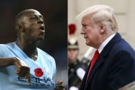 French Defender Benjamin Mendy Trolls US President Donald Trump With Epic Tweet