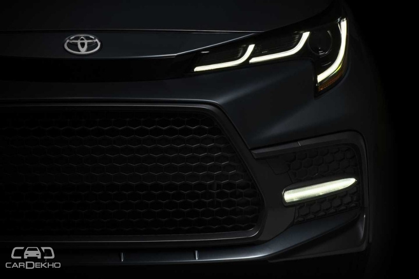 Toyota Drops First Teaser Image Of New-gen Corolla Sedan