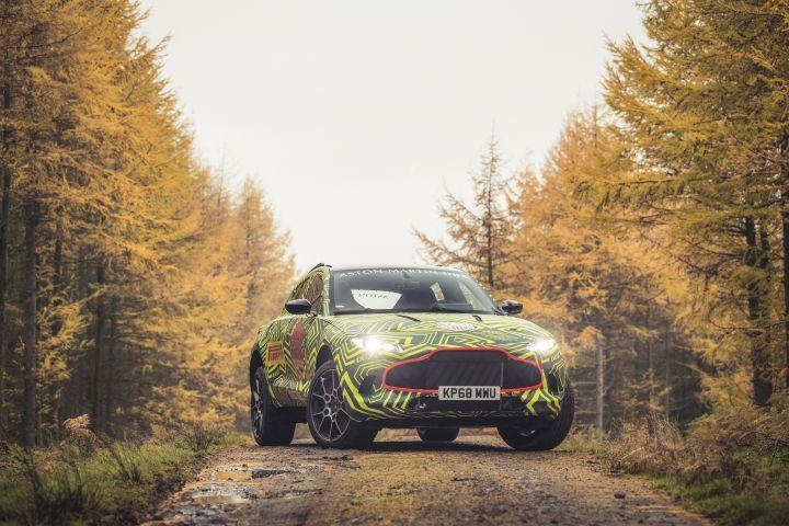 Aston Martin Confirms DBX Name for Upcoming SUV