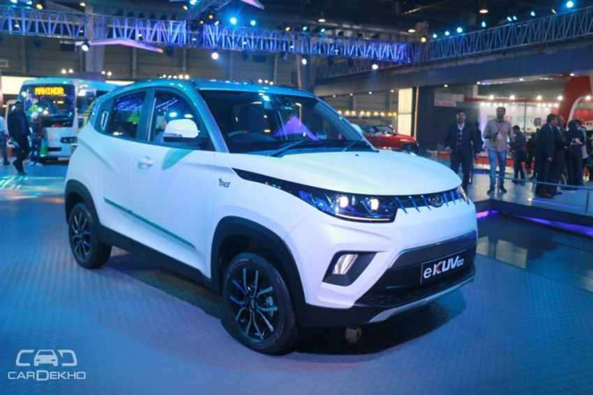 Mahindra KUV100 Electric Launch Confirmed For Mid-2019