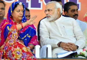 Cong Couldn't Find Any Other Candidate Than Manvendra To Contest Against Me: Raje