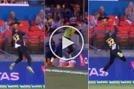 Australia Vs South Africa: Glenn Maxwell Takes Stunning Catch To Dismiss Faf Du Plessis – Watch