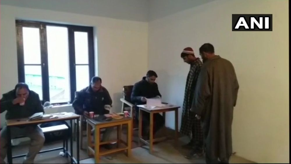 J&K Panchayat Elections: 64.5% Voting In First Phase