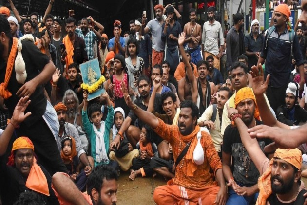 Sabarimala Row: Kerala BJP Protests Following Senior Leader's Remand, Blocks Highways