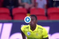 Watch: Kagiso Rabada Bowls Possibly The 'Widest' Delivery Ever in History Of Cricket