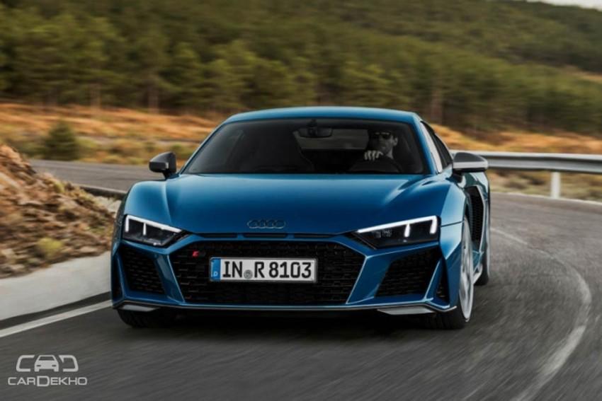 2019 Audi R8 Facelift Unveiled
