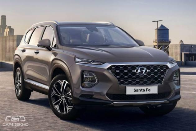 New Hyundai Santa Fe Coming To India Will Rival Toyota
