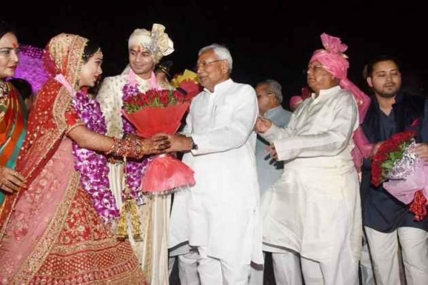 Lalu's Son Tej Pratap Files For Divorce 6 Months After Wedding