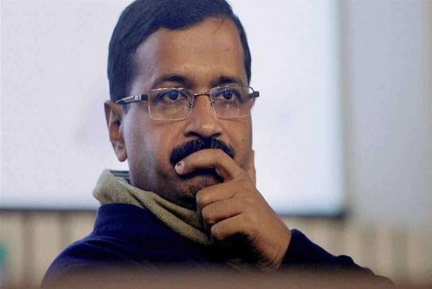 Chilli Powder Thrown At CM Arvind Kejriwal Inside Delhi Secretariat