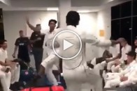 Viral Video: New Zealand Players Celebrate Thrilling Four-Run Win Over Pakistan With Bhangra Dance