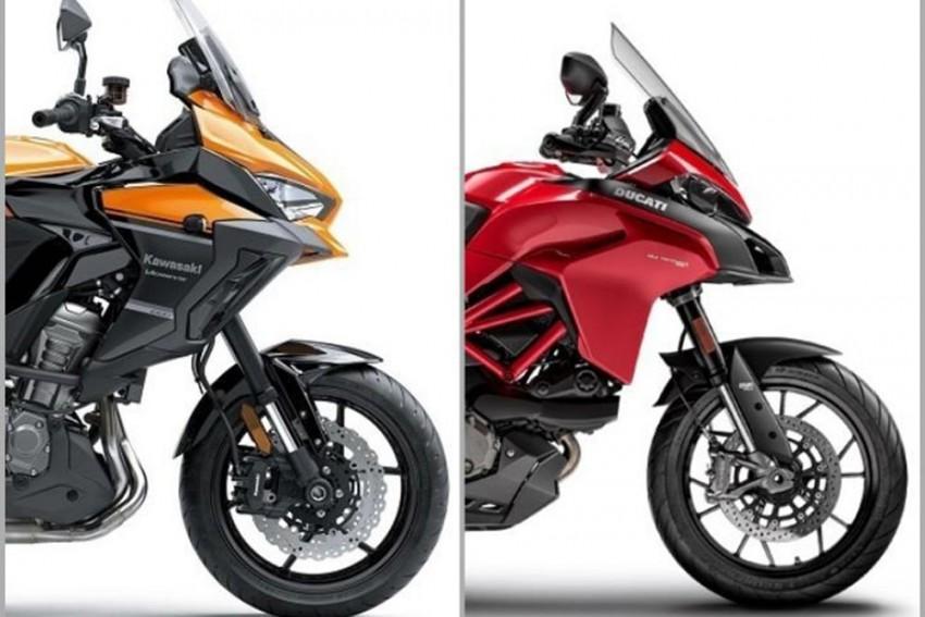 2019 Kawasaki Versys 1000 vs Ducati Multistrada 950: Spec Comparison