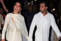 Deepika  Padukone  And Ranveer Singh Off To Bengaluru For Wedding Reception