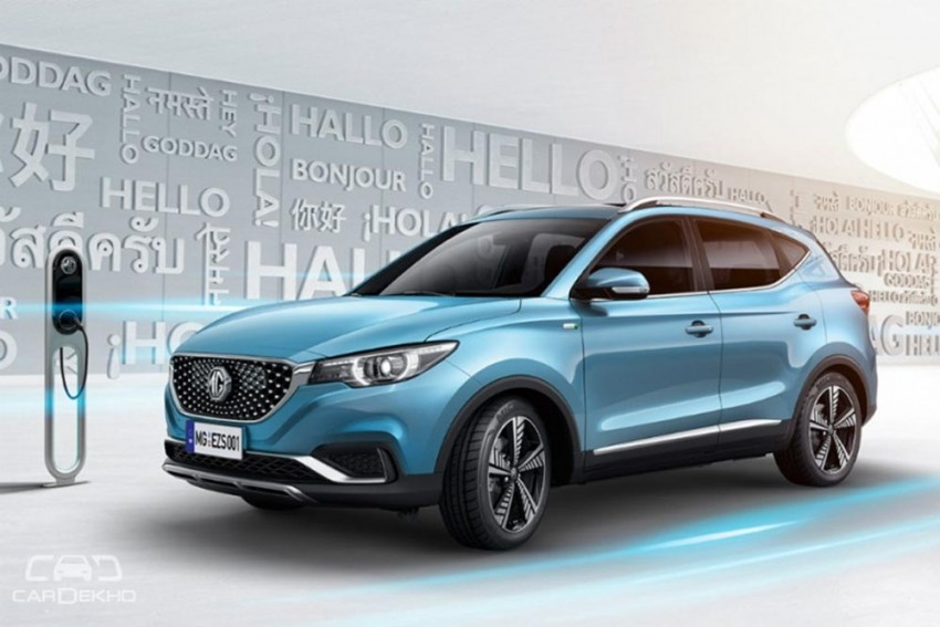 MG EZS Electric SUV Revealed, India Launch On Cards