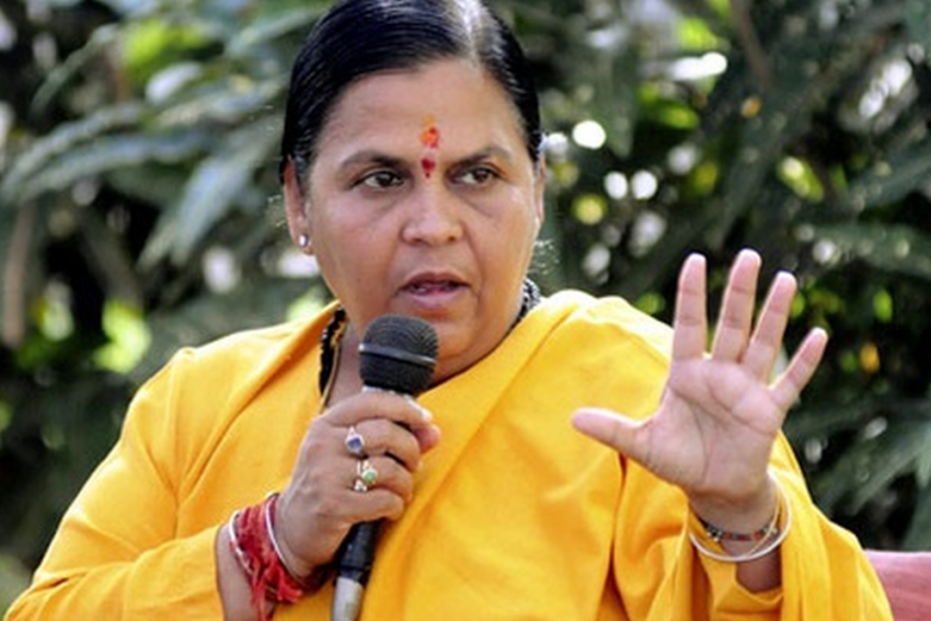 Congress Conspiring With Pakistan To Defeat Modi: Uma Bharti