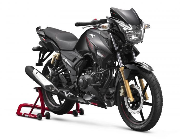 Cosmetically Updated 2019 TVS Apache RTR 180 Launched At Rs 84,578