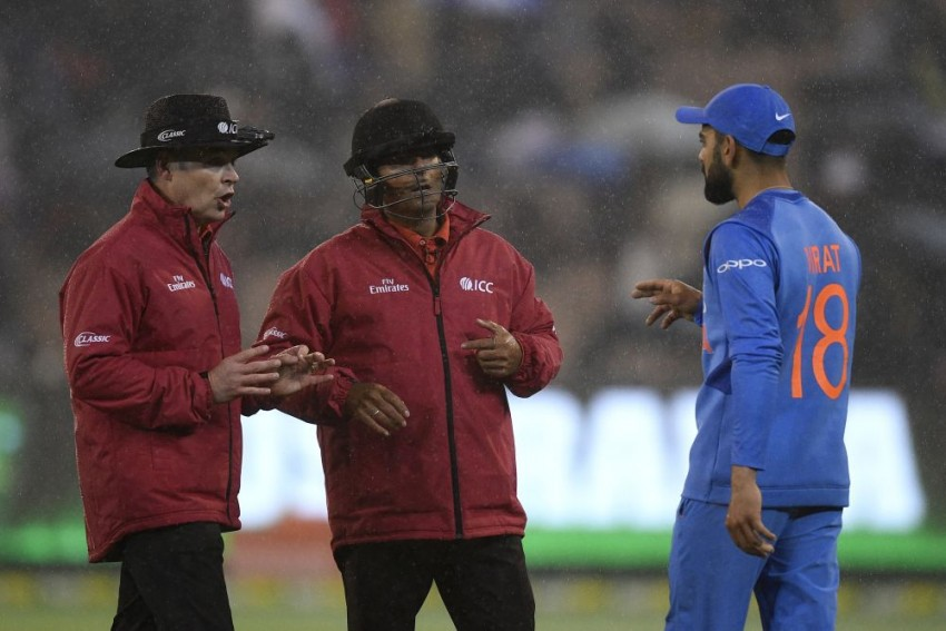 India's Tour Of Australia, 2nd T20I: Rain Plays Spoilsport At MCG; India's Run Of 7 Consecutive Series Wins Comes To An End