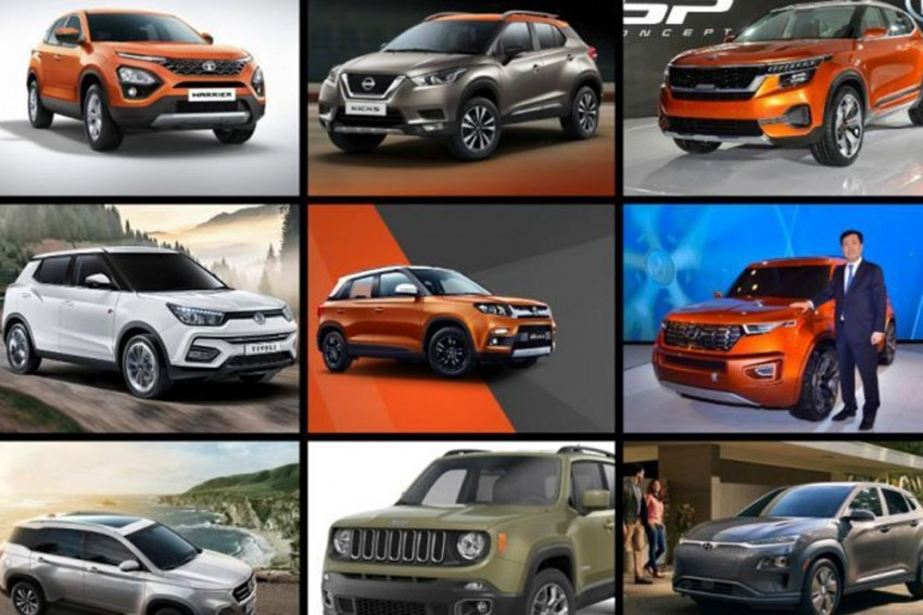9 Sub-Rs 20 Lakh SUVs Worth Waiting For In 2019 - Tata Harrier, Nissan Kicks And More