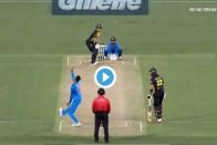 WATCH: Krunal Pandya's Double Strike Against Australia