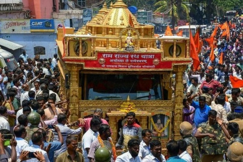 BJP's Youth Wing Develops 'Ram Dhun' Ringtone To Garner Support For Ram Temple