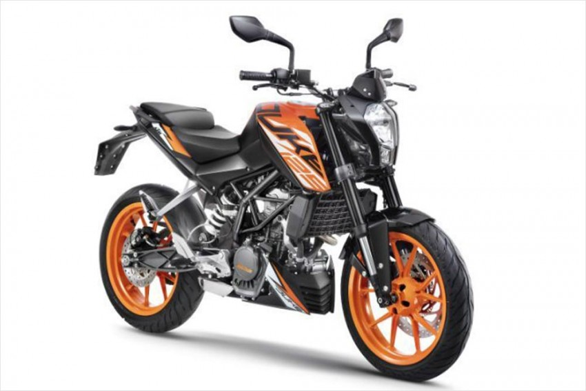 KTM Launches Smallest Duke In India