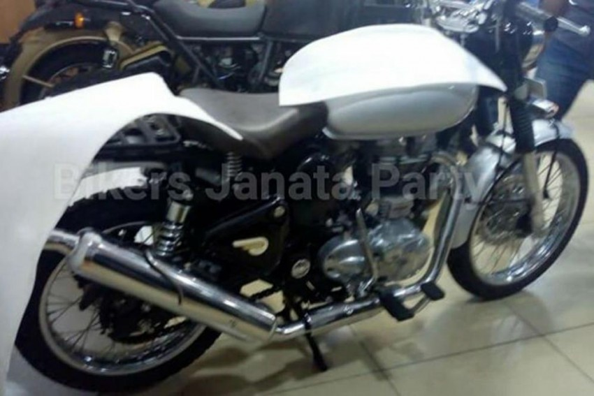 Royal Enfield 500cc Scrambler Spied; To Be Launched Soon