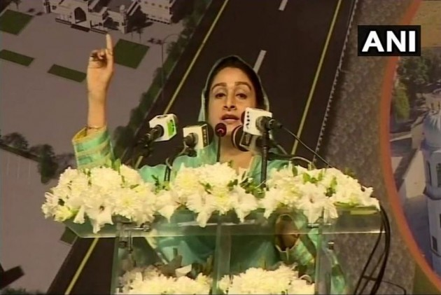 At Kartarpur, Harsimrat Echoes Modi On Berlin Wall, Says Mistrust Can Be Removed Through Love