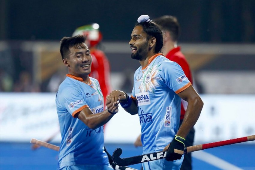 Odisha Hockey World Cup: India Open Campaign With Comfortable 5-0 Win Over South Africa