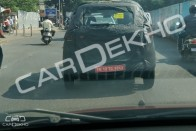 Renault Kwid-based MPV Spied; Looks Production Ready