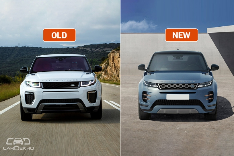 Range Rover Evoque Old vs New: Major Differences