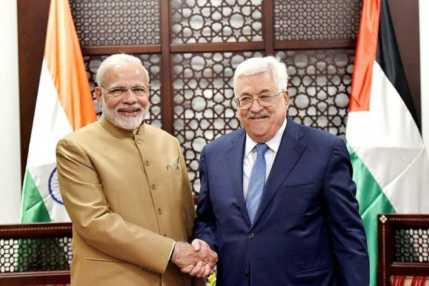 Hope For Early Resumption Of  Israel-Palestine Dialogue, Says PM Modi