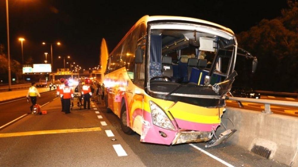 Coach Crash Leaves Five Dead, 31 Injured In Hong Kong: Police