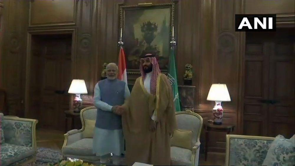 PM Modi Meets Saudi Crown Prince, Economic, Cultural And Energy Ties Discussed