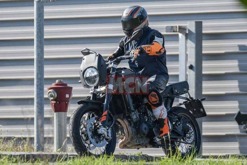 Husqvarna's New Mid-Sized Adventure Motorcycle Spied