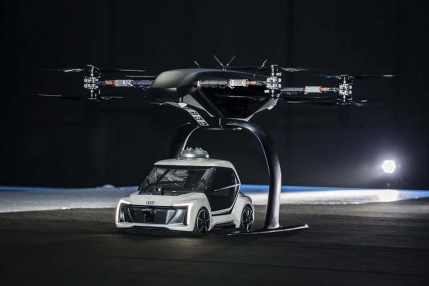 Audi's First Ever Flying Taxi Concept Takes Off
