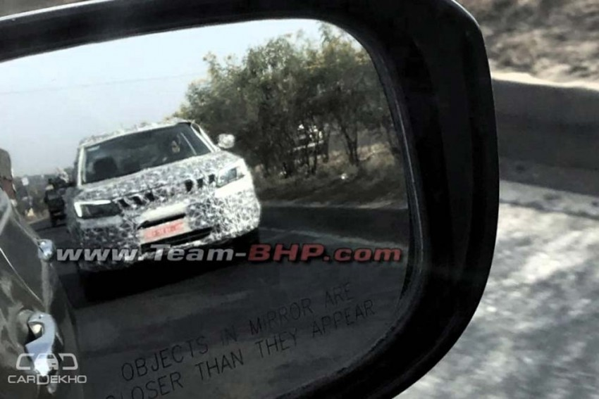 Mahindra S201 Spied Ahead Of December 1 Name Reveal