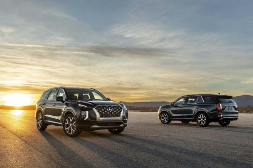 Hyundai Palisade Unveiled: 2018 LA Motor Show