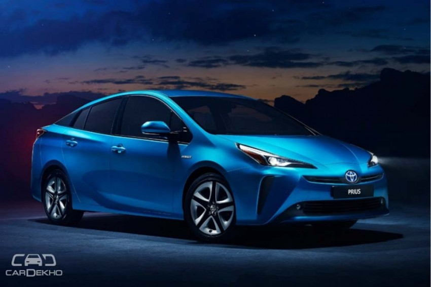 Toyota Prius Facelift Revealed, India Launch Likely In 2019