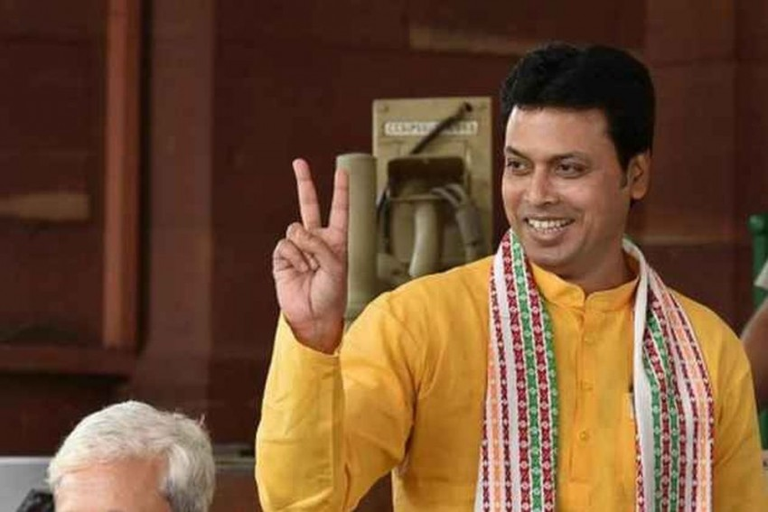 Biplab Deb Says He Will Distribute Cows To 5000 Families To Help Fight Malnutrition