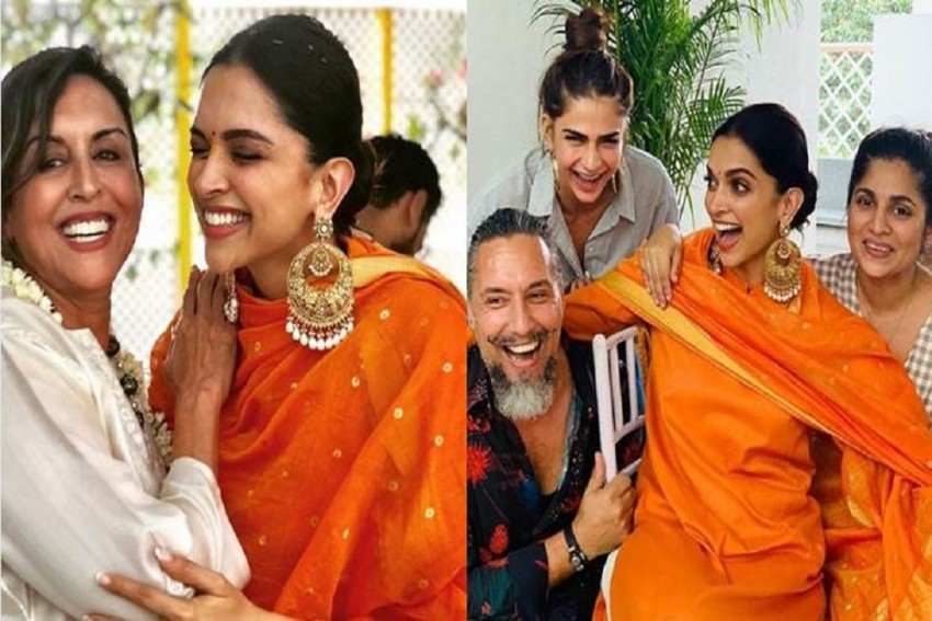Deepika Padukone's  First Wedding Event Started With A Puja