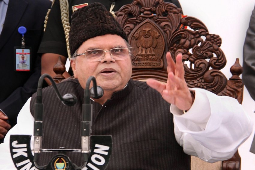 J&K Governor Claims Only One Boy Joined Militancy In Past Three Months