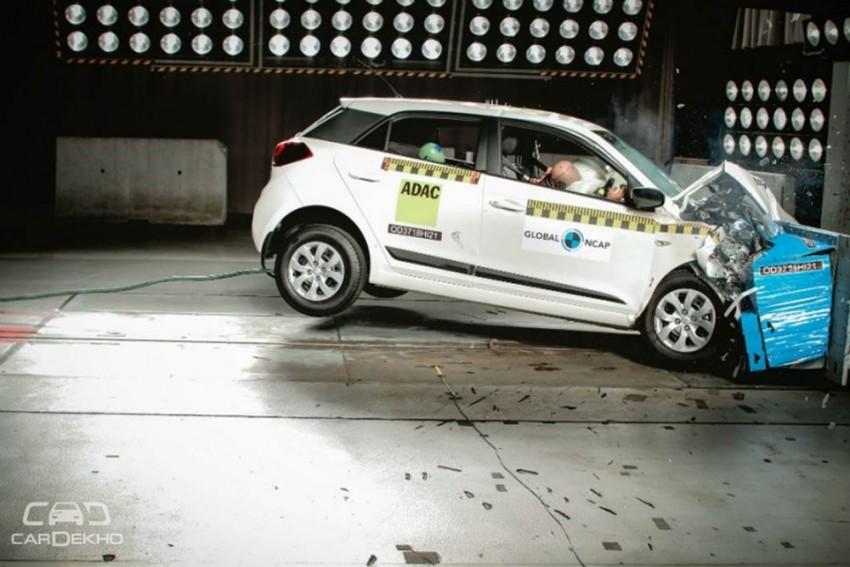 Made-In-India Hyundai Elite i20 Gets 3-Star Safety Rating In Global NCAP Crash Test