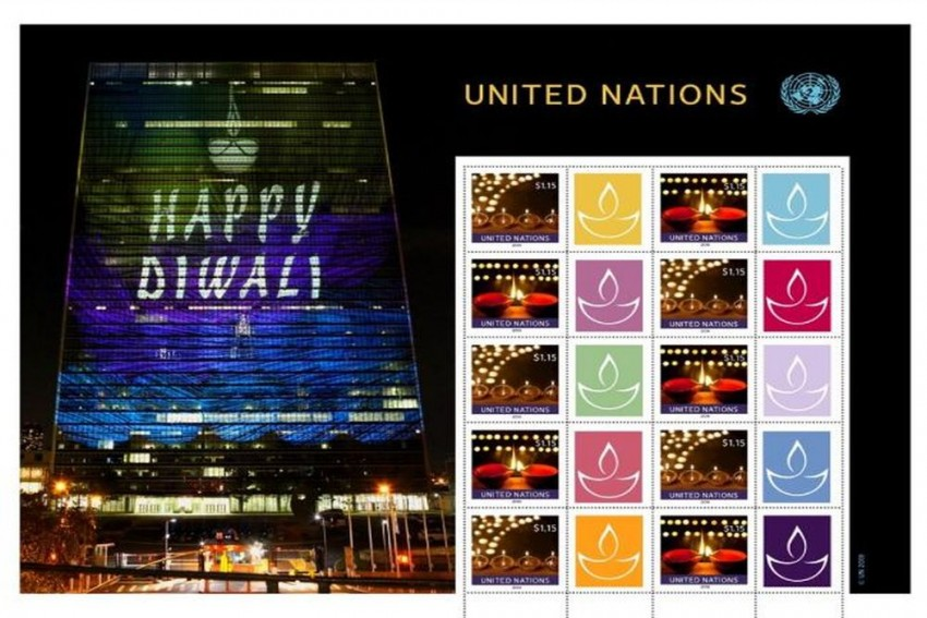 United Nations Issues Special Diwali Stamp, India Says Thank You