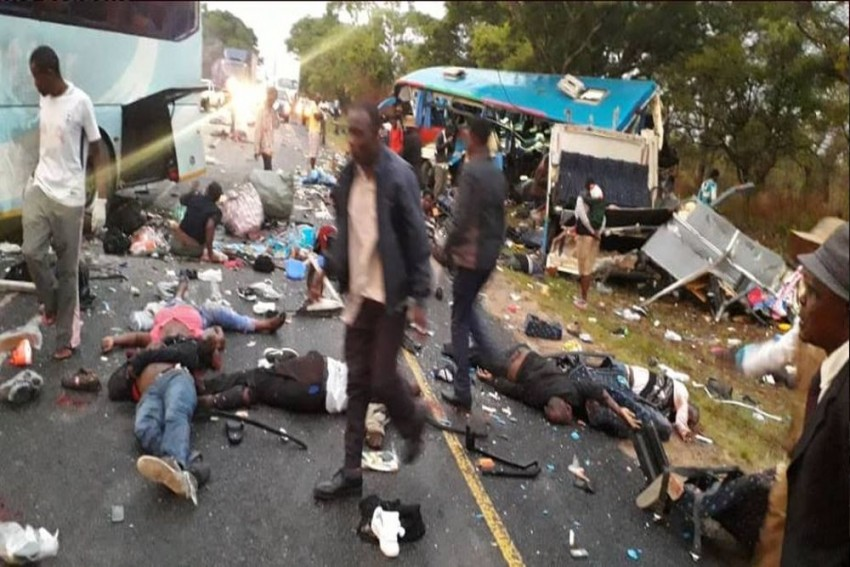 47 Killed In Road Accident In Zimbabwe