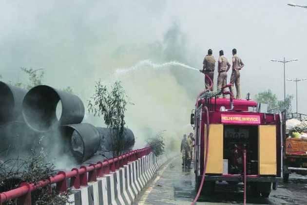 271 Fire Calls Received On Diwali In Delhi: Report